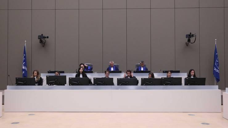 Richter am Internationalen Strafgerichtshof in Den Haag.