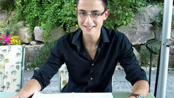 Trotz des grossen Talentes will der 18-jährige Anthony Buchard nicht Musik, sondern Maschinenbau studieren.