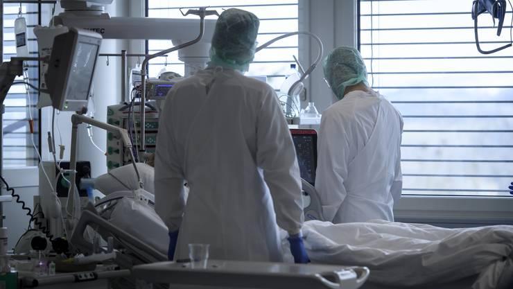 Das BAG meldet am Mittwoch 4509 neue Ansteckungen mit dem Coronavirus. (Archivbild)