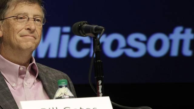 Zur Kasse gebeten: Bill Gates' Microsoft (Archiv)