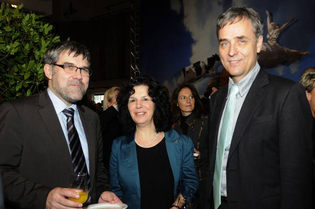 Eric Nussbaumer, Anita Lachenmeier, Guy Morin