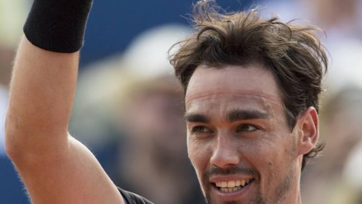 Fabio Fognini triumphierte als erster Italiener seit Nicola Pietrangeli 1963 am Swiss Open
