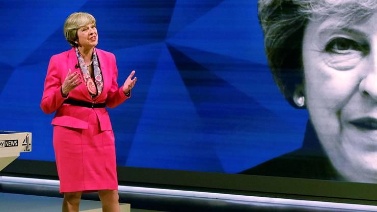 Theresa May greift zur rhetorischen Keule.Stefan Rousseau/AP/Keystone