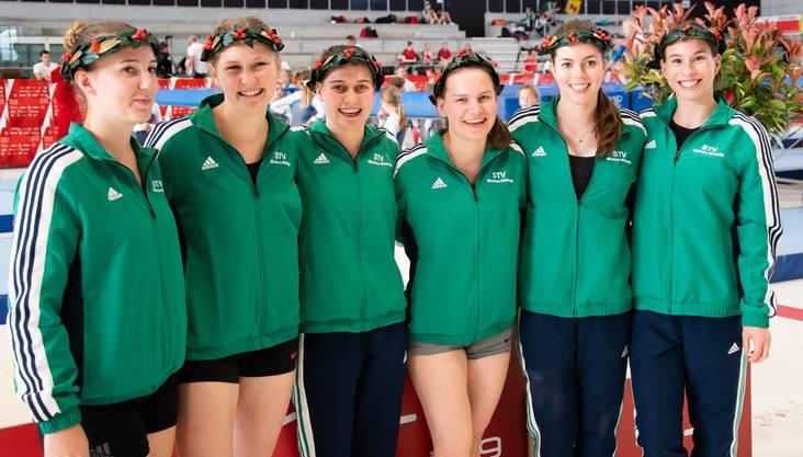 von links nach rechts: Tamara Gygli, Silvina Hufschmid, Claudia Gansner, Jasmine Gansner, Aline Hottinger und Melanie Schärer