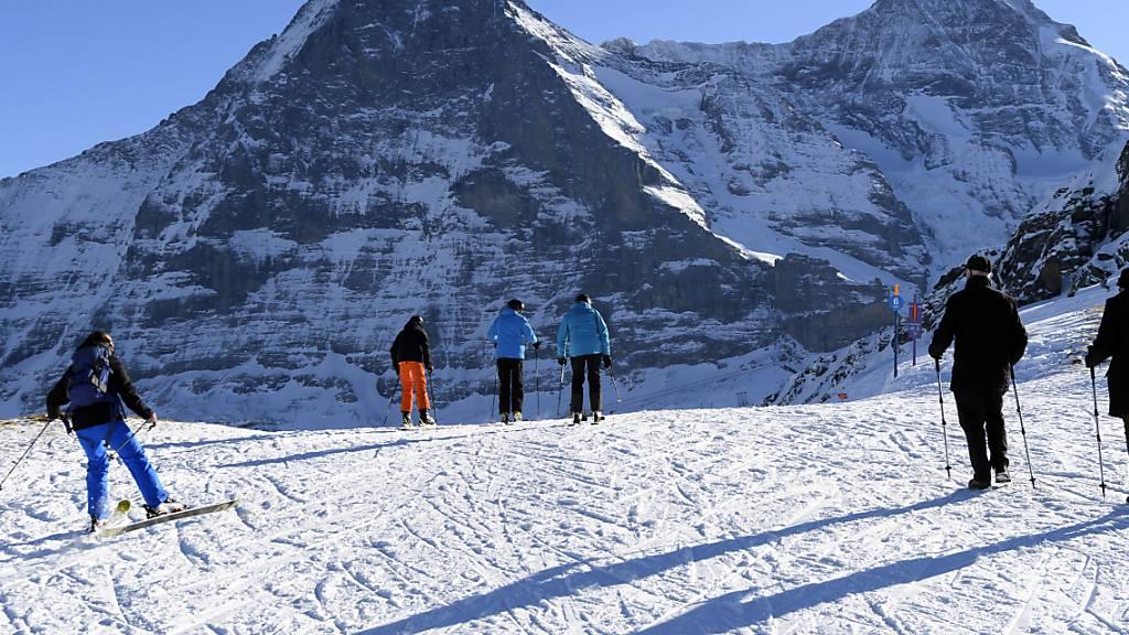 24-jähriger Schweizer bei Skiabfahrt am Eiger verunglückt