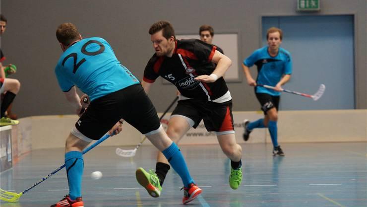 Pure Kraft: Der letztjährige NLA-Spieler Lukas Wittwer erzielte für Limmattal das Game-Winning-Goal.