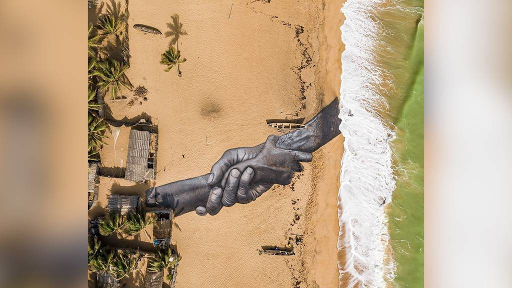 Schweizer Airbrush-Künstler gedenkt mit Kunstwerk an Sklaverei