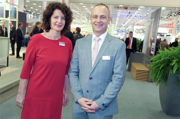 Muriel Lehmann und Ruedi Pfander.