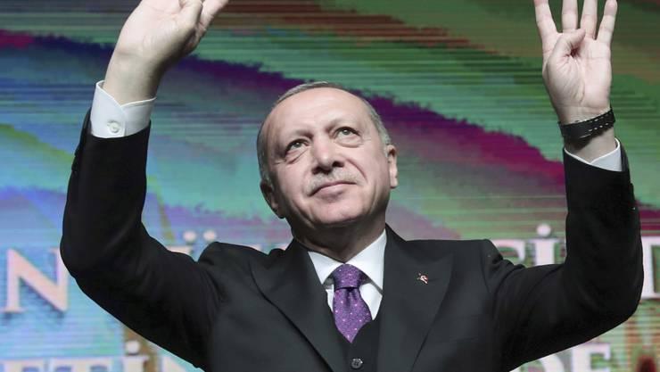 Die gegenwärtige Konjunkturlage in der Türkei  dürfte ihm nicht gefallen: Präsident Recep Tayyip Erdogan. (Archivbild)