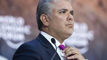 Beim Absturz eines Militärhelikopters sind in Kolumbien mindestens neun Soldaten getötet worden. Der kolumbianische Präsident, Ivan Duque, bezeichnete den Absturz als einen Unfall. (Archivbild)