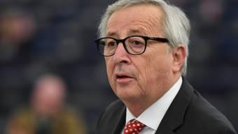 EU-Kommissionspräsident Jean-Claude Juncker will gegen Falschnachrichten während der Europawahl vorgehen. (Archivbild)
