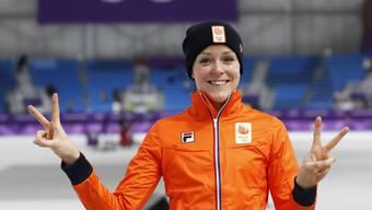 Novum an Olympischen Spielen: Die Niederländerin Jorien ter Mors gewinnt an den Winterspielen in Pyeongchang je eine Medaille in zwei verschiedenen Sportarten