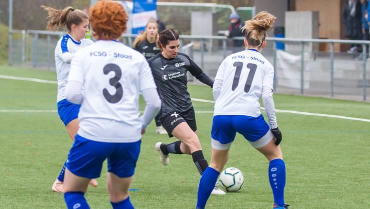 Die FCA-Frauen unterliegen St. Gallen mit 0:3