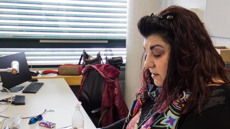 Patrizia Lenza – Dozentin für Informatik an der Berufsfachschule Zofingen – hat durch das Webinar geführt. Bild: Regina Lüthi