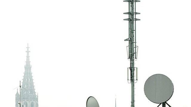Eine Mobilfunkantenne (Symbolbild)