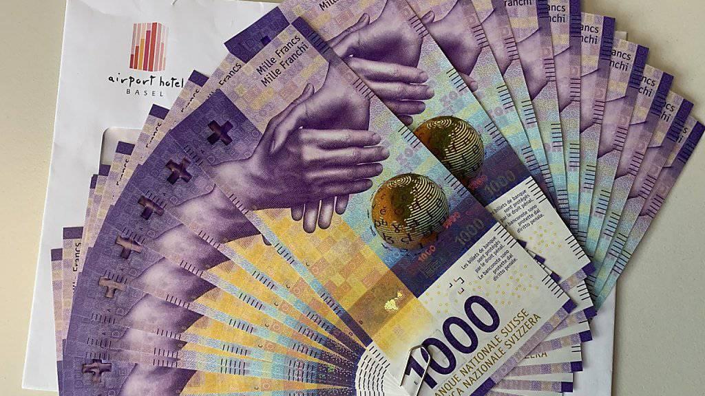 Eine Spende dieser Grössenordnung ist beim Tierheim in Basel äusserst ungewöhnlich: 20'000 Franken überreichte ein Unbekannter am Freitag in bar.
