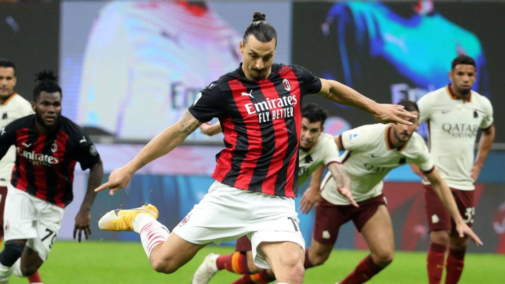 Zlatan Ibrahimovic schoss mittels Penalty das 3:2.