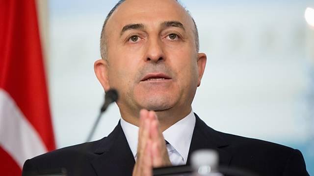 Türkisches Aussenminister Cavusoglu bei seinem Besuch in Washington