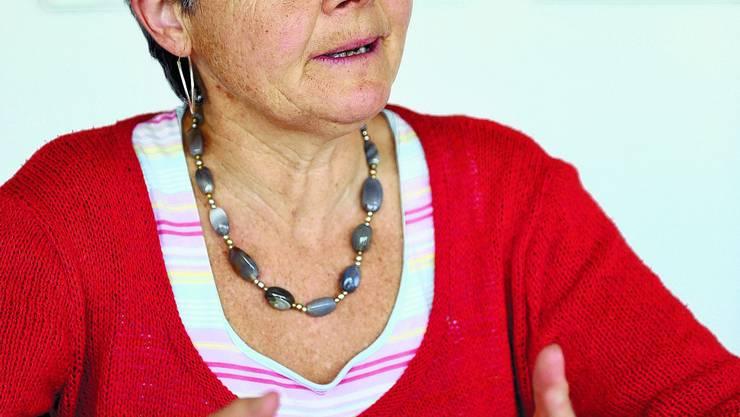 Rosmarie Wyss: Die Geschäftsführerin von Benevol Kanton Solothurn will mit der Einrichtung eines Schreibdienstes Menschen mit einer Schreibschwäche unter die Arme greifen. (Bild: Oliver Menge)