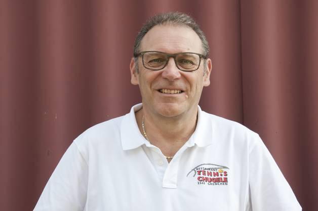 Roland Rüetschi, Inhaber Restaurant Tennischugele in Grenchen.