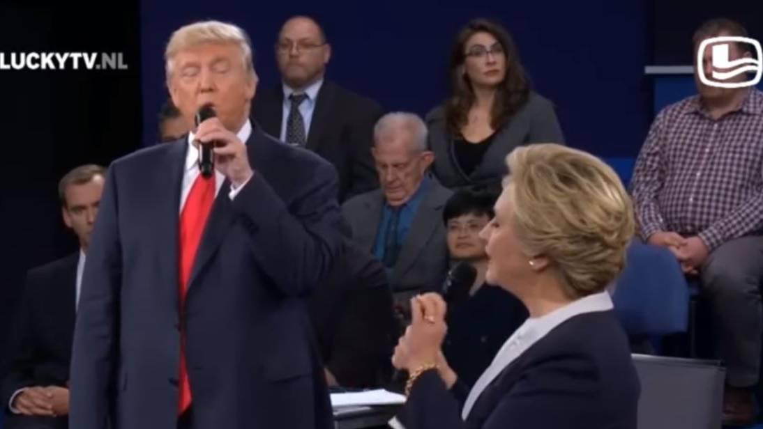 Clinton und Trump machen auf «Dirty Dancing»