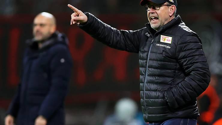 Urs Fischer verpasste mit Union Berlin den Cup-Halbfinal knapp