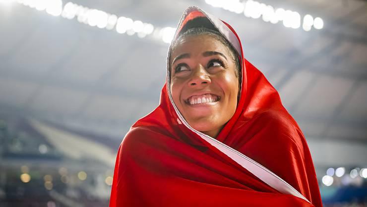 Mujinga Kambundji darf sich freuen: Sie erbt EM-Bronze über 60 m