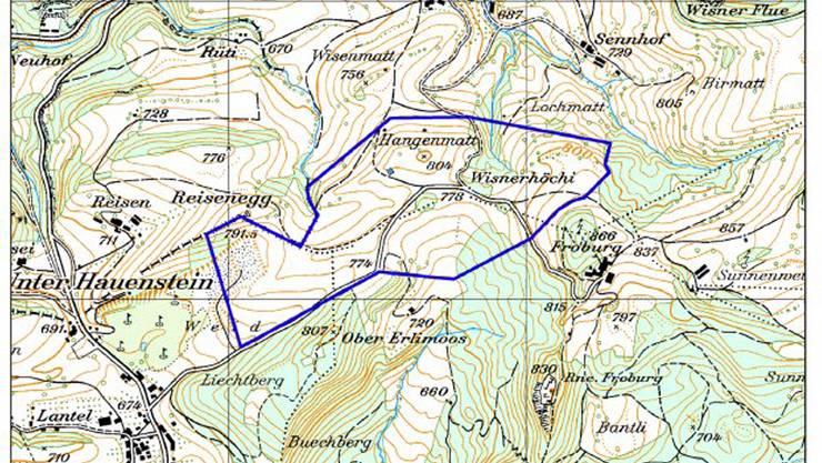 Im aktualisierten Richtplan wird das Gebiet ausgeschieden.
