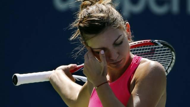 Simona Halep siegte gegen die Trauer.