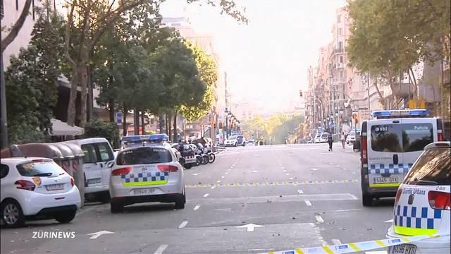 Panik und Schock im Moment vom Anschlag