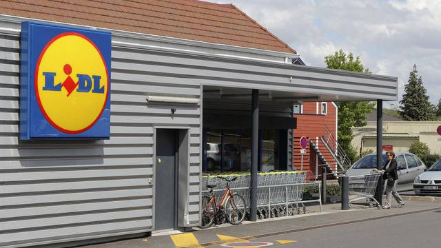 Verdacht auf undeklariertes Pferdefleisch: Lidl in Deutschland (Symbolbild)