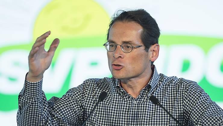 Nationalratskandidat und Weltwoche-Chefredaktor Roger Köppel.