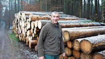 Beat Bossert hat während 30 Jahren den Wald des Forstbetriebs Muri mit seinem Team gepflegt und geprägt.