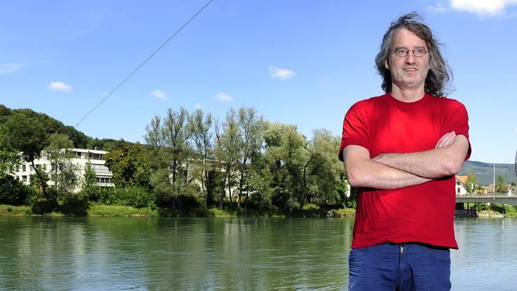 Stephan Müller macht sich seit Jahren für eine Aarebadi stark. (Bild von 2011)