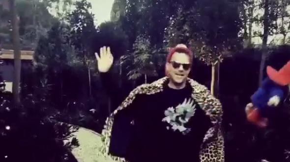 Robbie Williams tanzt zu Bruno Mars-Song