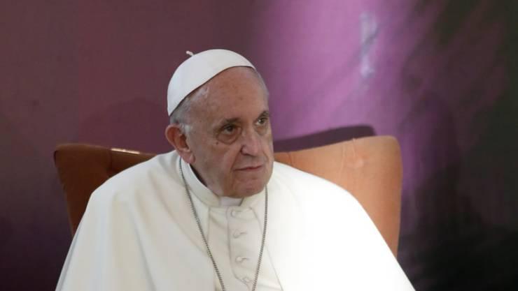 """""""Das Treffen war rein privater Natur"""": Papst Franziskus sprach bei seinem Besuch in Chile auch mit Opfern sexuellen Missbrauchs durch Priester."""