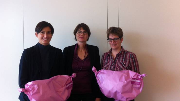 Maja Riniker, Susanna Schlittler und Jeannine Glarner