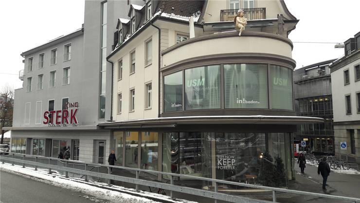 Möbelhaus an zentraler Lage: 1997 eröffnete hier das «in!baden». mru
