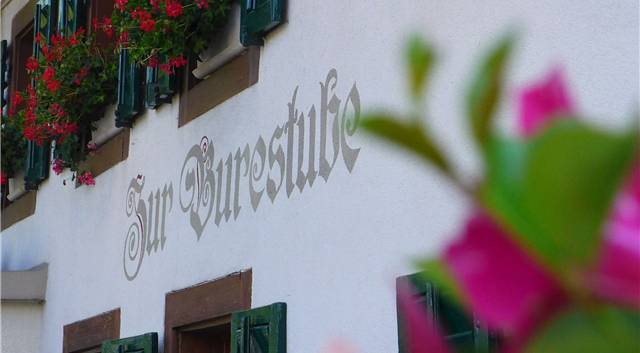 Das Restaurant «Zur Burestube» in Buchs. (Archivbild)