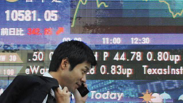 Wall Street im Plus