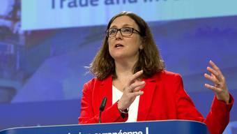 Die EU-Handelsministerin Cecilia Malmström.