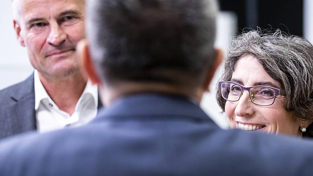 Der Zuger Ständeratskandidat Matthias Michel (FDP) tritt auch im zweiten Wahlgang an.