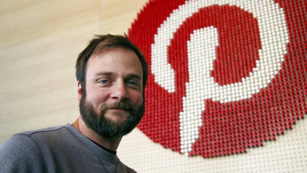 Pinterest-Mitgründer Evan Sharp. (Archivbild)