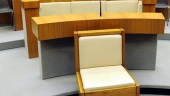 Blick in einen Gerichtssaal: Zwei Angeklagte wurden in Bellinzona freigesprochen (Symbolbild)