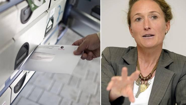 Susanne Hochuli bezahlt keine Billag - nun will sie aber doch.