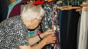 """Im Altersheim Schöftland ist das """"Chleiderhüsli"""" eröffnet worden, eine Second-Hand-Boutique, betreut durch den Frauenverein Schöftland."""