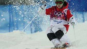 Alex Bilodeau wird erneut Olympiasieger auf der Buckelpiste