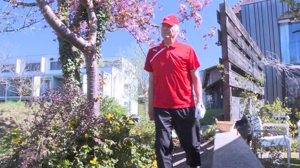 Benefiz-Lauf von 80-jährigem Berner Sportler