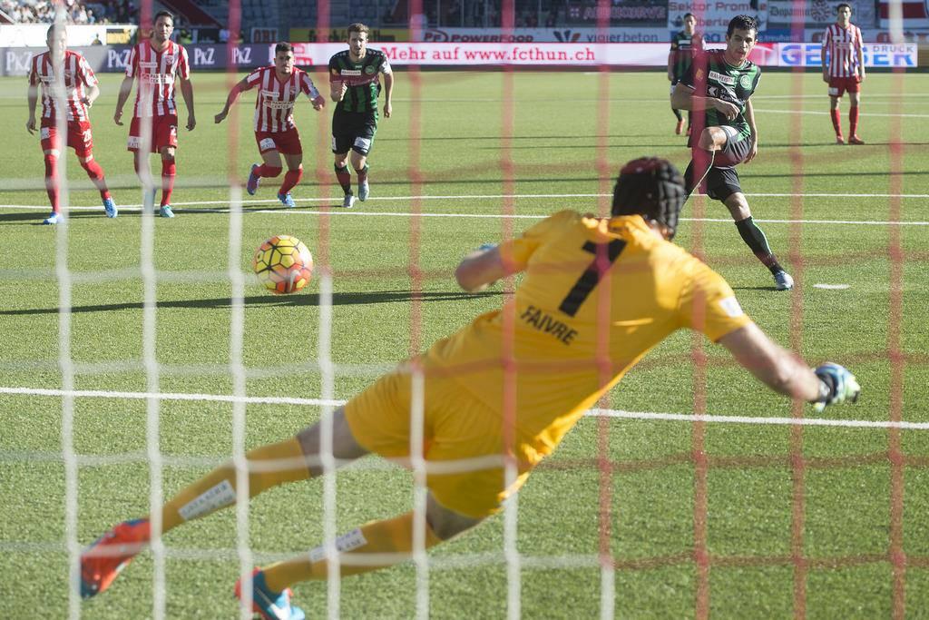 Thun - FCSG: Der Sieg in Bilder (© FM1Today.ch)