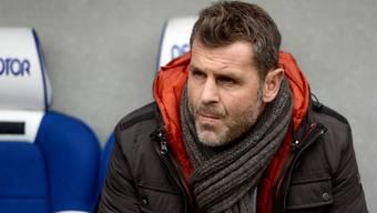 Nach dem 0:4 gegen den Tabellenletzten aus Luzern spitzt sich die Lage beim FC Aarau zu. Im Auge des Orkans: Trainer Sven Christ.